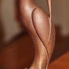 This print has been uploaded by : Guy Cesar : Couches de 0.15 mm Hauteur 17 cm Peinture bronze Rust-Oleum