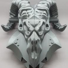 This print has been uploaded by Spectra3D Technologies, Printed by: ITCHY PIG CREATIONS Printed with a Stacker Sliced with Simplify3D Print settings- 20% infill- 2 shells- .20 mm  layer height filament- Colorfabb PLA Silver