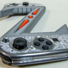 Picture of print of Zelda Switch Joycon accessory
