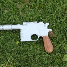 Picture of print of Han Solo's Blaster Star Wars