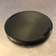 Picture of print of 58mm front Lens Cap