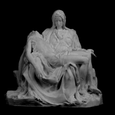 This print has been uploaded by : Scan The World : Pieta V2