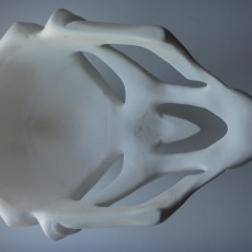 This print has been uploaded by Heorhi Puhachou, I glued it a mixture of acetone and white ABS.