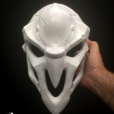 This print has been uploaded by Derek Quenneville, Made on an Afinia H800 in ABS+, lots and lots of bondo and spraypaint applied. :)