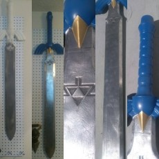Picture of print of Zelda Master Sword