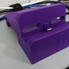 Picture of print of Zaku Nintendo Switch Dock Mod