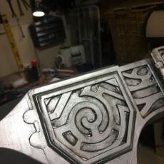 Picture of print of Steel Warhammer - Skyrim - BATTLE MOPS