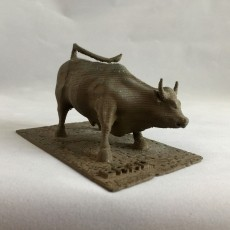 This print has been uploaded by : John Fitzpatrick : I printed this out for a friend using bronzeFill by colorFabb and aged it by suspending it above a hydrogen peroxide and salt mix.