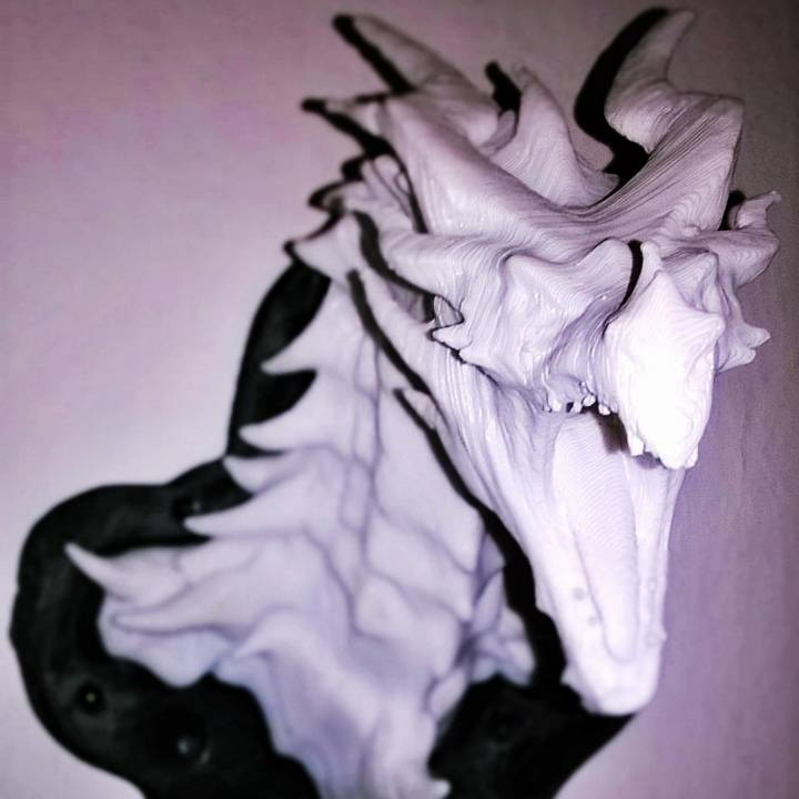 Picture of print of Alduin dragon Bust This print has been uploaded by Tjaš Paternuš