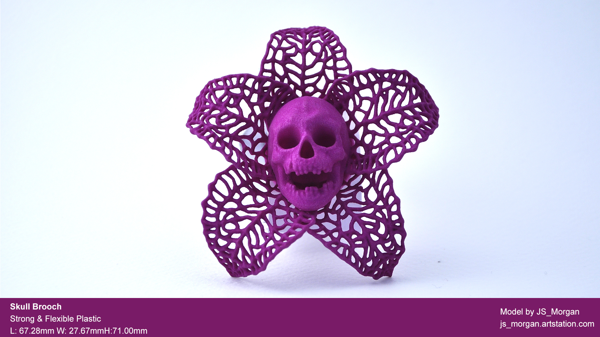Picture of print of Skeletal Flower Pendant This print has been uploaded by James Morgan