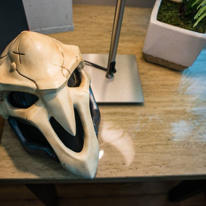 Picture of print of OverWatch's Reaper Mask! This print has been uploaded by Gary Williams