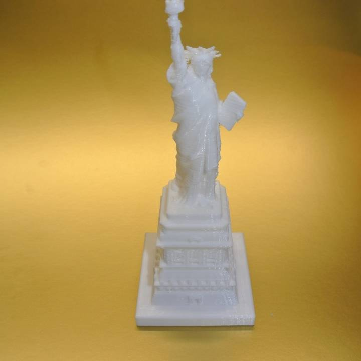 Picture of print of Statue of Liberty in Manhattan, New York This print has been uploaded by 3d-print