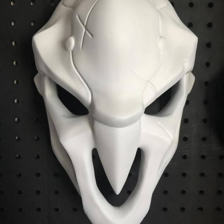 Picture of print of OverWatch's Reaper Mask! This print has been uploaded by Steve Strong