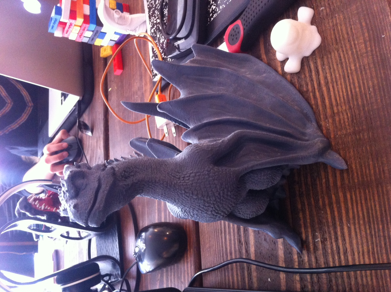 """Picture of print of Drogon From """"Game of Thrones"""" This print has been uploaded by Michael Perez"""
