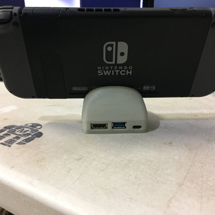 Picture of print of Mini Nintendo Switch docking station This print has been uploaded by The Mod Shop