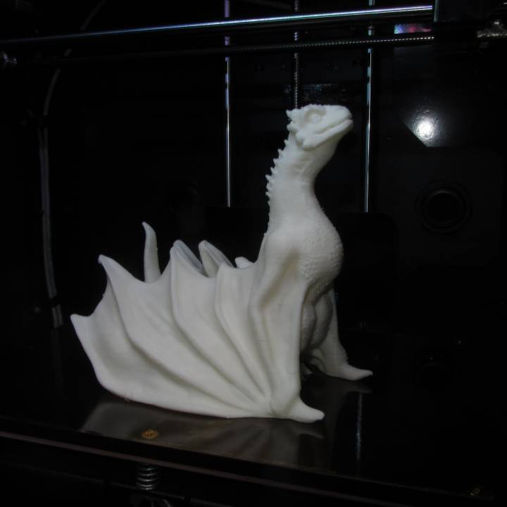 """Picture of print of Drogon From """"Game of Thrones"""" This print has been uploaded by Jared Ramkissoon"""