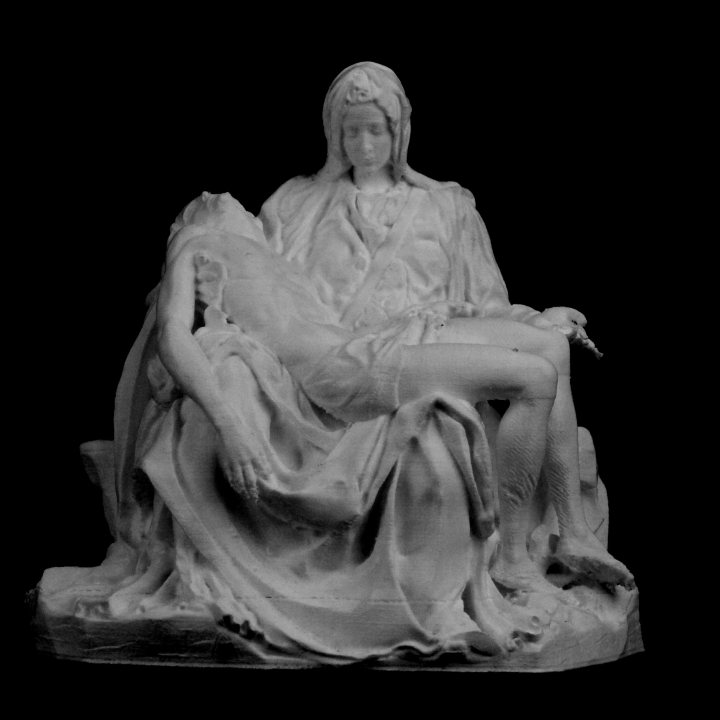 Picture of print of Pieta in St. Peter's Basilica, Vatican This print has been uploaded by Scan The World