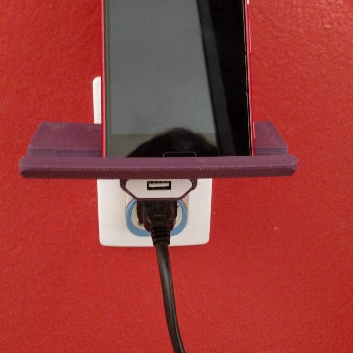 Picture of print of Wall Outlet Shelf This print has been uploaded by Alexandre Aguiar de Castro