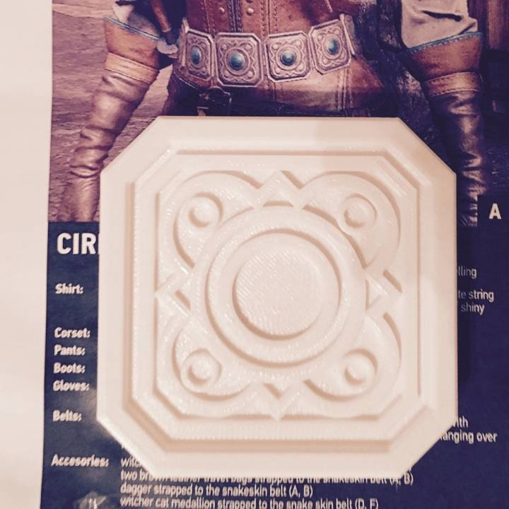 Picture of print of Witcher 3 Ciri Belt This print has been uploaded by Amie Dansby
