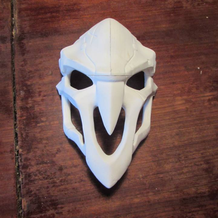 Picture of print of OverWatch's Reaper Mask! This print has been uploaded by Gaston Tablada