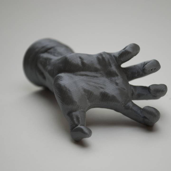Picture of print of The Mighty Hand at The Musée Rodin, Paris This print has been uploaded by Nick