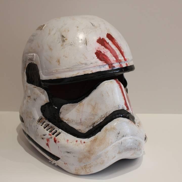 This print has been uploaded by Saxon Fullwood, Finn's episode 7 stormtrooper helmet
