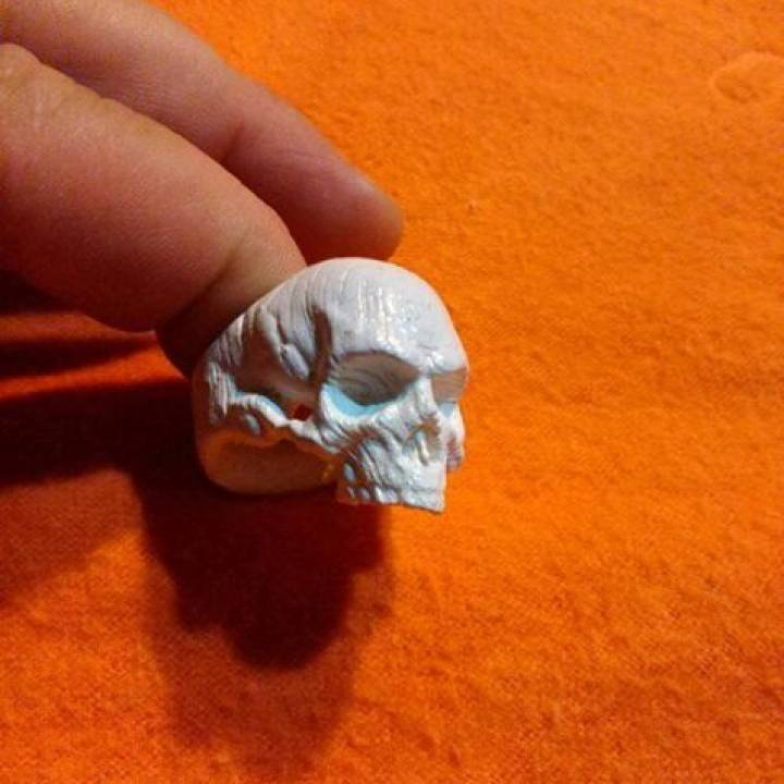 Picture of print of Skull Ring This print has been uploaded by Gastón Moll