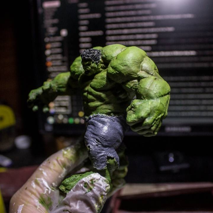 Picture of print of Hulk This print has been uploaded by Felipe Acuña Viera