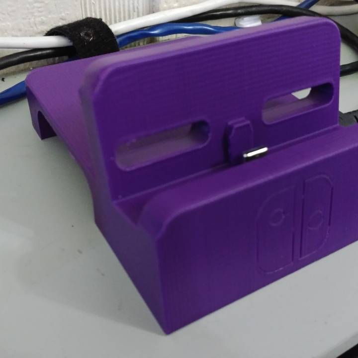 Picture of print of Zaku Nintendo Switch Dock Mod This print has been uploaded by Nathaniel Little