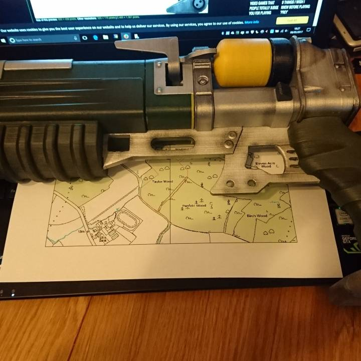 Picture of print of Fallout 4 - Laser Pistol This print has been uploaded by Gary Roffey-Bond