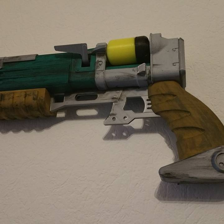 Picture of print of Fallout 4 - Laser Pistol This print has been uploaded by markus meyer