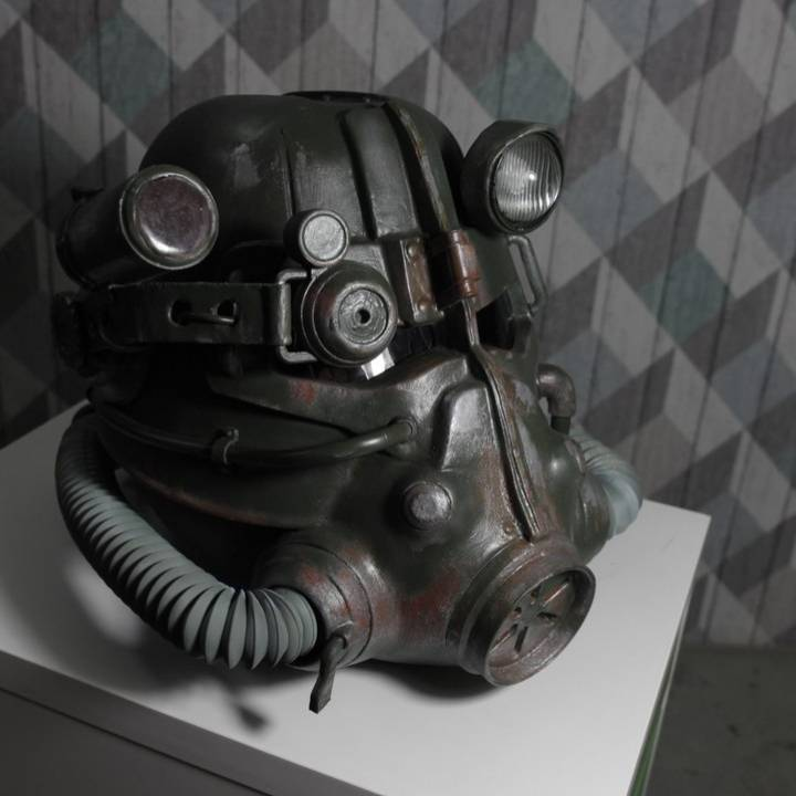 Picture of print of Fallout 3 - T45-d Power Armour Helmet This print has been uploaded by Kloun