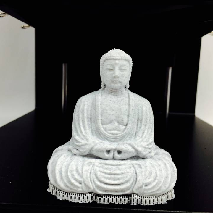 Picture of print of The Great Buddha at Kamakura, Japan This print has been uploaded by Tyler Shaw