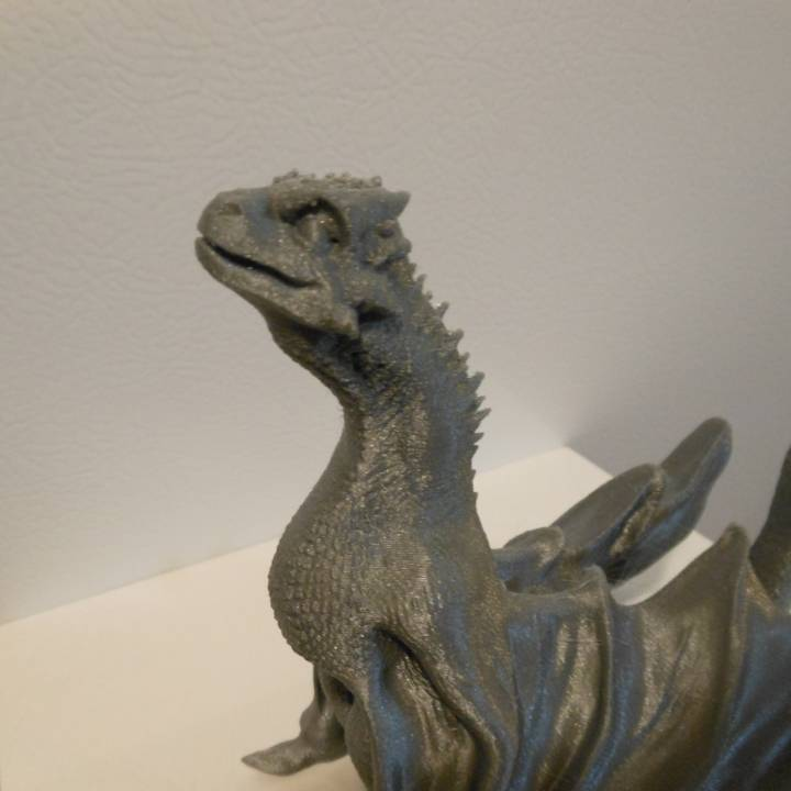 """Picture of print of Drogon From """"Game of Thrones"""" This print has been uploaded by Jareth Bustamante"""