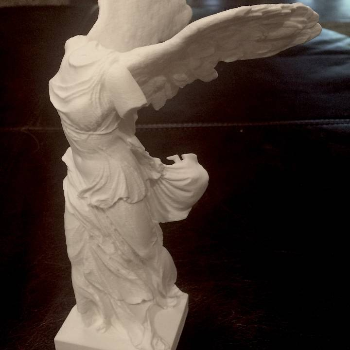 Picture of print of Winged Victory of Samothrace at The Louvre, Paris This print has been uploaded by Mitch Fournier