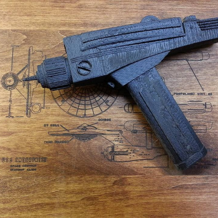 Picture of print of Star Trek Phaser This print has been uploaded by pmaker