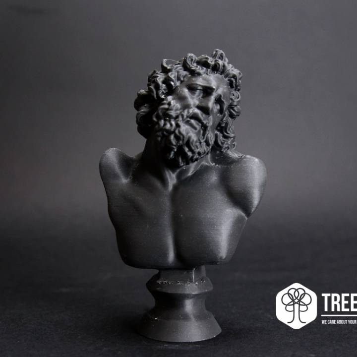 This print has been uploaded by TreeD Filaments, Printed with Darkstone by TreeD filaments