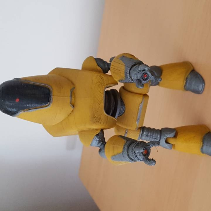 Picture of print of Fallout 4 - Protectron Action Figure This print has been uploaded by Kieran Torode