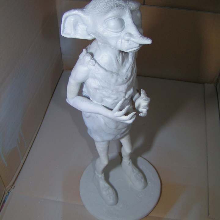 Picture of print of Dobby the Elf This print has been uploaded by Gerald Wittling