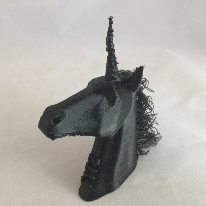 Picture of print of Hairy Unicorn (single and dual extrusion) This print has been uploaded by John Fitzpatrick