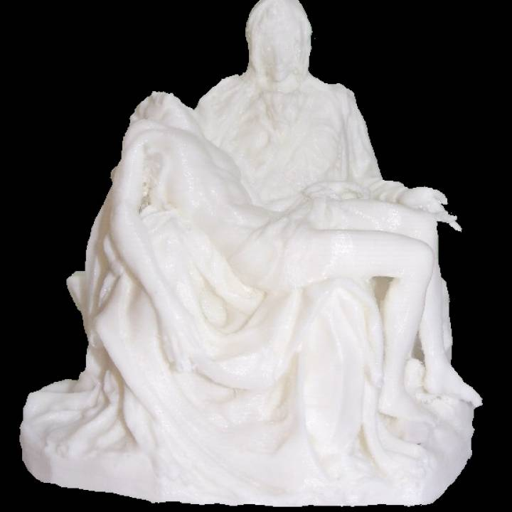 Picture of print of Pieta in St. Peter's Basilica, Vatican This print has been uploaded by 3d-print
