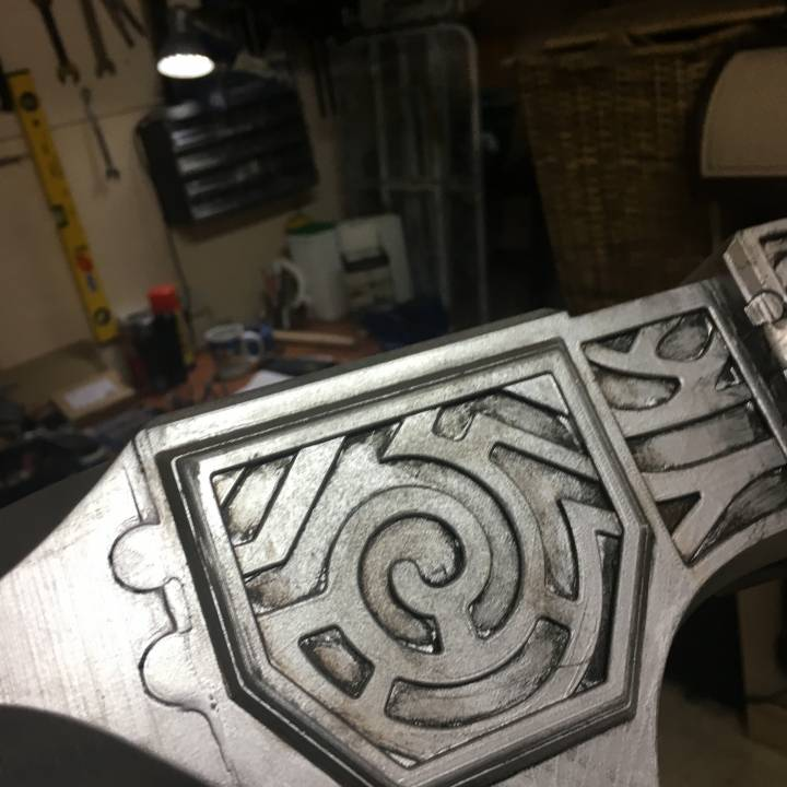Picture of print of Steel Warhammer - Skyrim - BATTLE MOPS This print has been uploaded by Borg3D