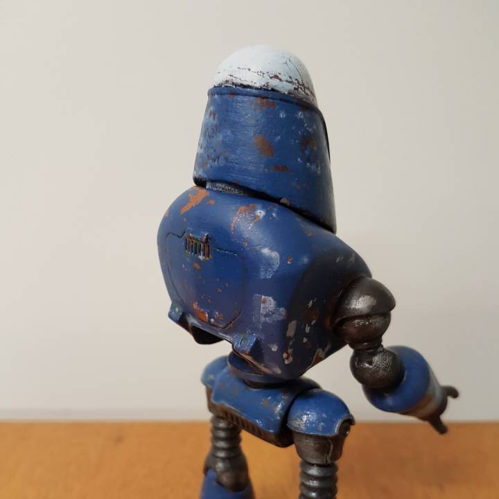 Picture of print of Fallout 4 - Protectron Action Figure This print has been uploaded by David Worden