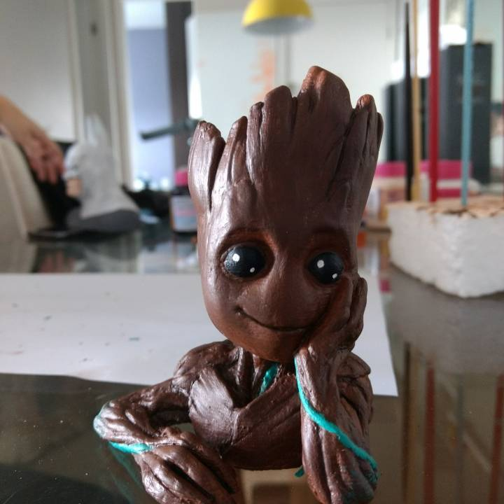 "Picture of print of Baby Groot flower pot: ""Gardens"" of the Galaxy 2 This print has been uploaded by Helder Hupfer"