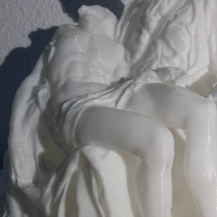 Picture of print of Pieta in St. Peter's Basilica, Vatican This print has been uploaded by Dani 3D