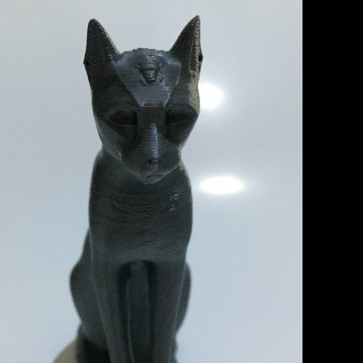 Picture of print of Gayer-Anderson Cat at The British Museum, London This print has been uploaded by Angel Spy