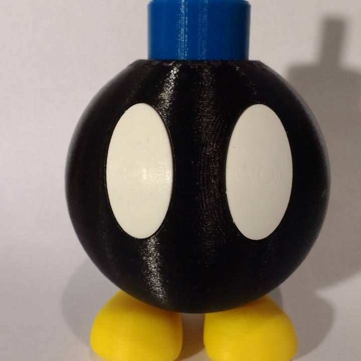 Picture of print of BOB-OMB! This print has been uploaded by KEN LIU