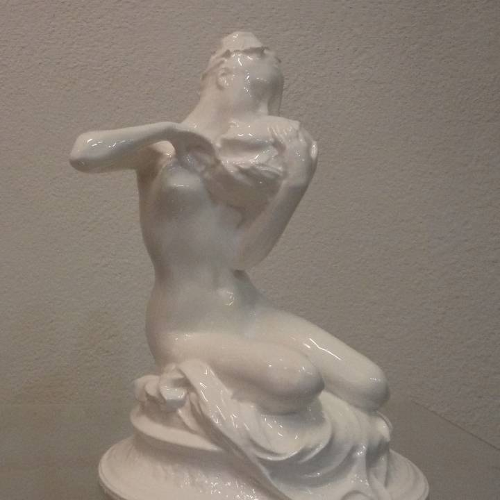 Picture of print of The Muse of André Chénier This print has been uploaded by Guido Maurizio