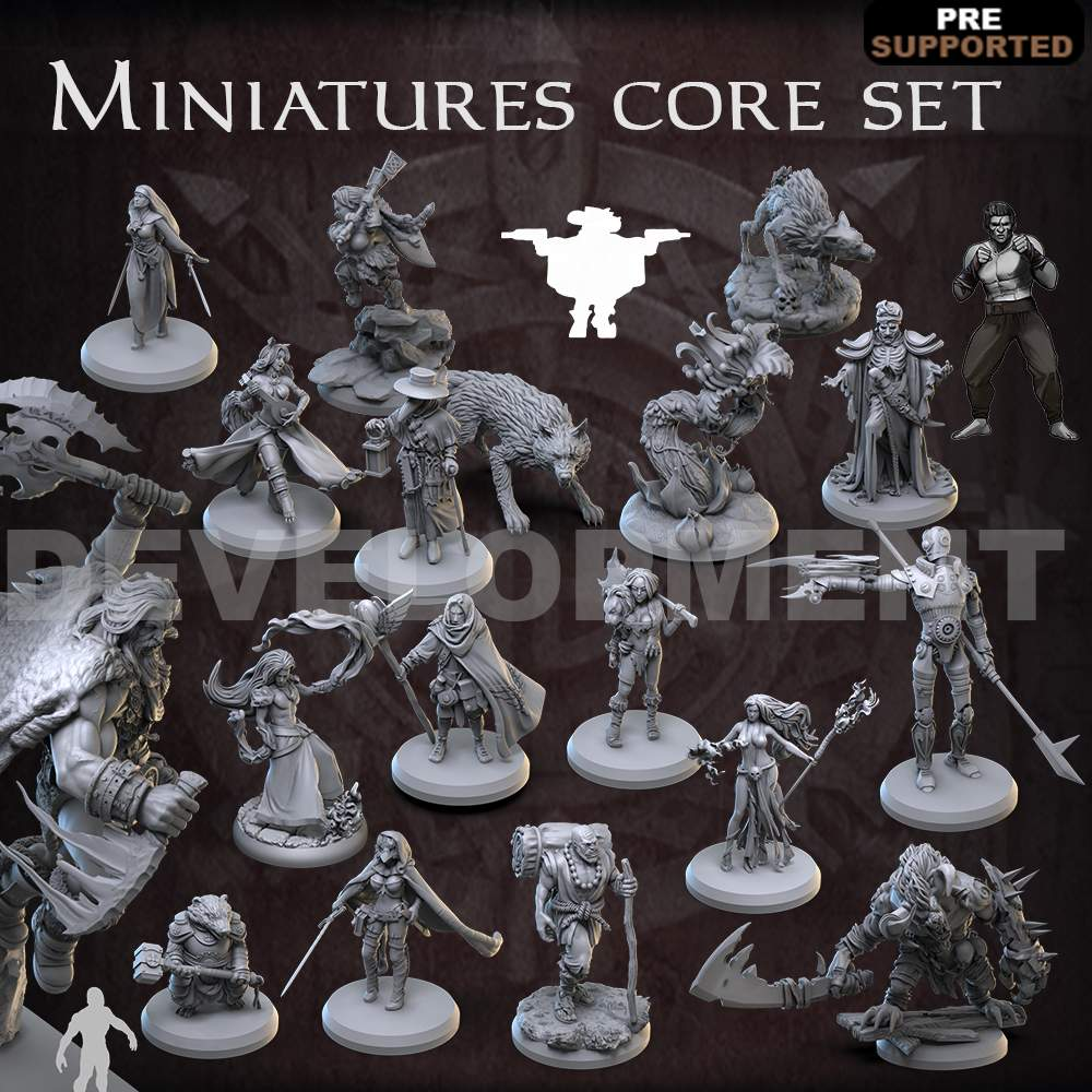 Miniatures core set's Cover