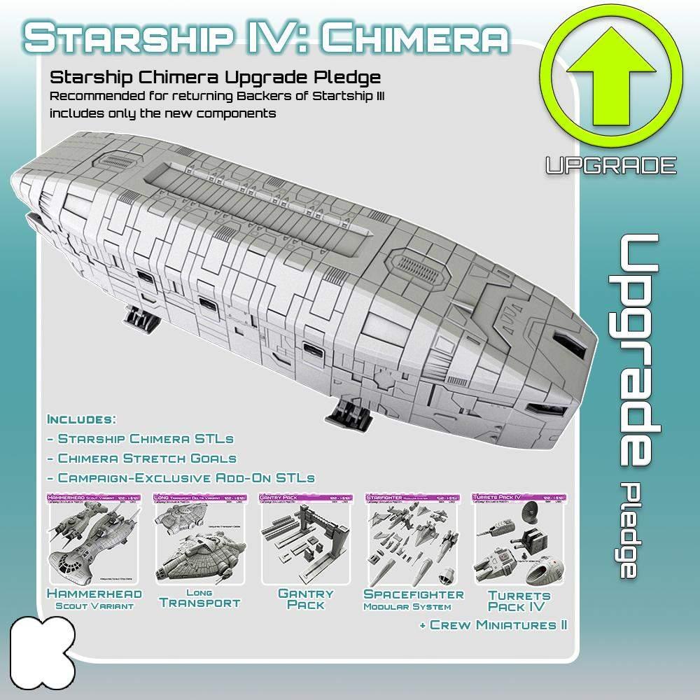 Starship Chimera Upgrade Pledge's Cover